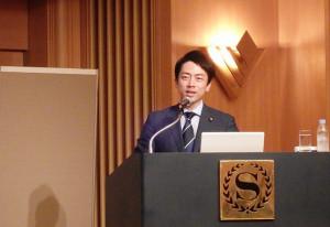 小泉進次郎氏 講演